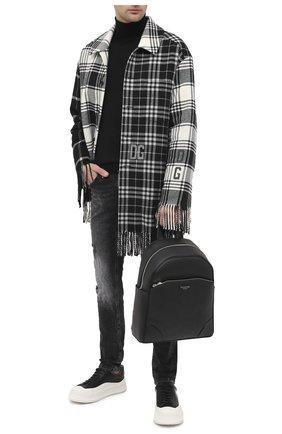 Мужской кожаный рюкзак BILLIONAIRE черного цвета, арт. W20A MBA0954 BLE029N | Фото 2