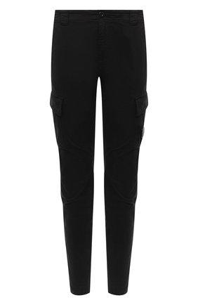 Мужской хлопковые брюки-карго C.P. COMPANY черного цвета, арт. 09CMPA131A-005529G | Фото 1