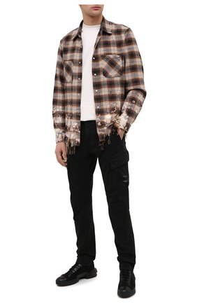 Мужской хлопковые брюки-карго C.P. COMPANY черного цвета, арт. 09CMPA131A-005529G | Фото 2