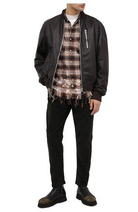 Мужские кожаные сапоги ROCCO P. черного цвета, арт. 9303/TRIP0N | Фото 2