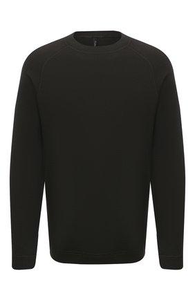 Мужской шерстяной свитер TRANSIT хаки цвета, арт. CFUTRM15503   Фото 1