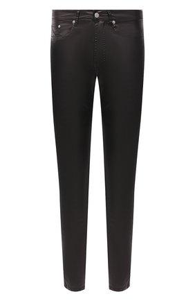 Мужские брюки DRIES VAN NOTEN черного цвета, арт. 202-22413-1176 | Фото 1