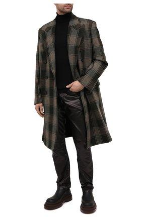 Мужские брюки DRIES VAN NOTEN черного цвета, арт. 202-22413-1176 | Фото 2