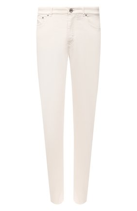 Мужские джинсы BRUNELLO CUCINELLI белого цвета, арт. M268DI1780 | Фото 1