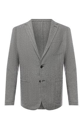 Мужской шерстяной пиджак ALTEA серого цвета, арт. 2062059 | Фото 1