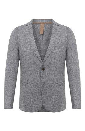 Мужской шерстяной пиджак ELEVENTY серого цвета, арт. B70GIAA10 JAC24018 | Фото 1