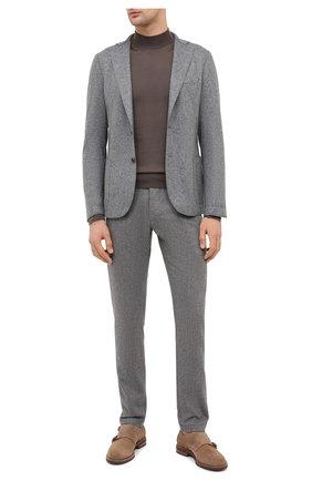 Мужской шерстяной пиджак ELEVENTY серого цвета, арт. B70GIAA10 JAC24018 | Фото 2
