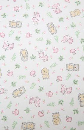Детского хлопковая пеленка MAGNOLIA BABY розового цвета, арт. 562-80P-PK | Фото 2