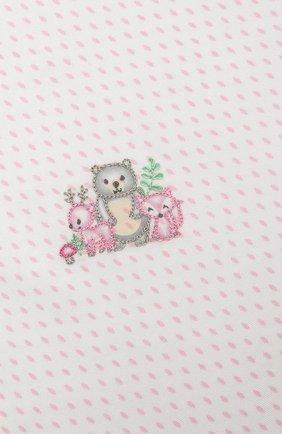 Детского хлопковая пеленка MAGNOLIA BABY розового цвета, арт. 562-62-PK   Фото 2 (Материал: Текстиль, Хлопок)