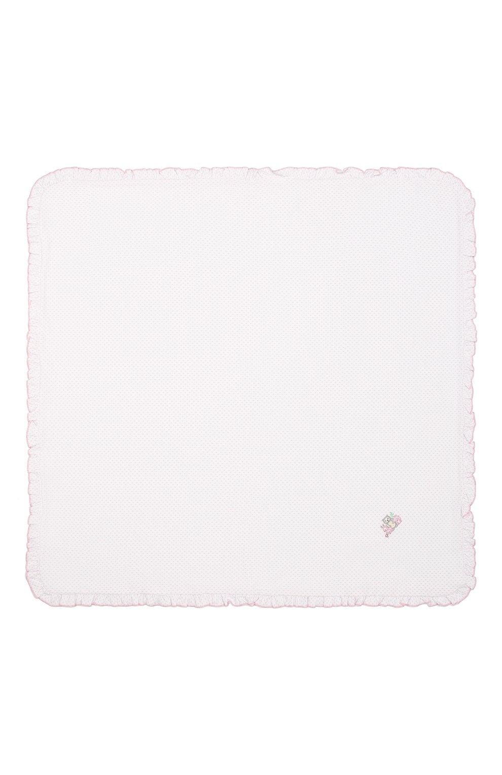 Детского хлопковая пеленка MAGNOLIA BABY розового цвета, арт. 562-62-PK   Фото 3 (Материал: Текстиль, Хлопок)