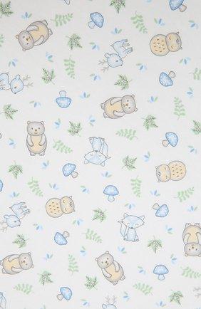 Детского хлопковая пеленка MAGNOLIA BABY голубого цвета, арт. 562-80P-LB | Фото 2