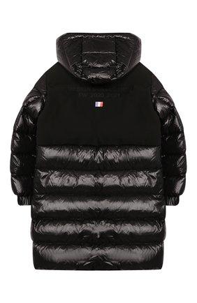 Детское пуховое пальто MONCLER черного цвета, арт. F2-954-1C514-20-68950/8-10A | Фото 2