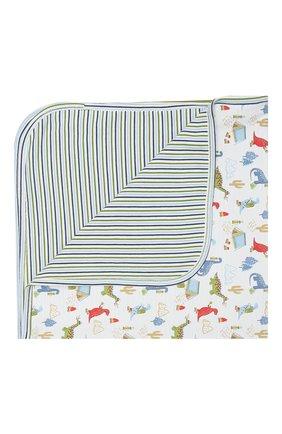 Детского хлопковое одеяло KISSY KISSY разноцветного цвета, арт. KB7046200   Фото 1