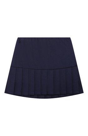 Детская юбка POLO RALPH LAUREN синего цвета, арт. 313798271 | Фото 1