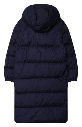 Детское пуховое пальто POLO RALPH LAUREN синего цвета, арт. 323797764 | Фото 2