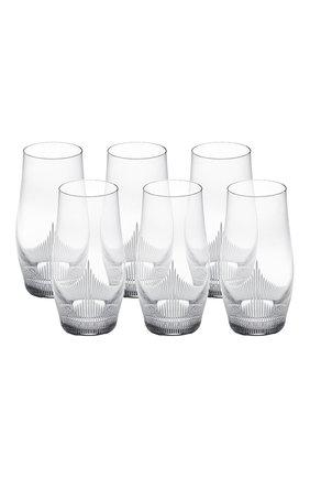 Набор из 6-ти стаканов для сока 100 points LALIQUE прозрачного цвета, арт. 10332600 | Фото 1