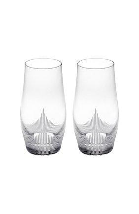Мужского набор из 2-х стаканов для сока 100 points LALIQUE прозрачного цвета, арт. 10332500 | Фото 1