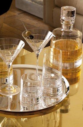 Набор из 2-х стаканов для сока graphik CHRISTOFLE прозрачного цвета, арт. 07945270   Фото 2