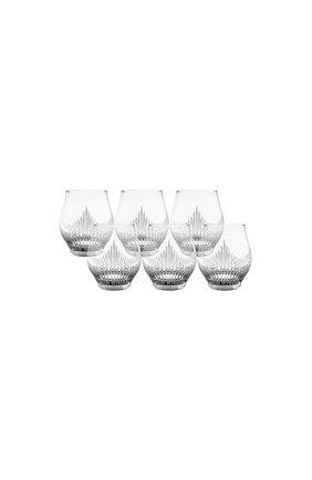 Мужского набор из 6-ти стаканов для виски 100 points LALIQUE прозрачного цвета, арт. 10332900 | Фото 1