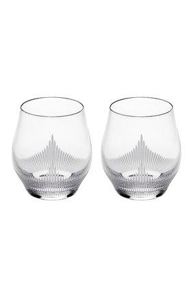Мужского набор из 2-х стаканов для виски 100 points LALIQUE прозрачного цвета, арт. 10332800 | Фото 1