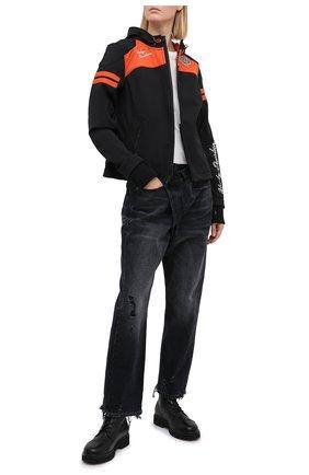 Женская куртка genuine motorclothes HARLEY-DAVIDSON черного цвета, арт. 98408-19VW | Фото 2