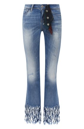 Женские джинсы genuine motorclothes HARLEY-DAVIDSON синего цвета, арт. P85337 | Фото 1