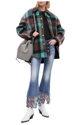 Женские джинсы genuine motorclothes HARLEY-DAVIDSON синего цвета, арт. P85337 | Фото 2