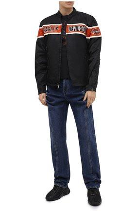 Мужская хлопковая футболка exclusive for moscow HARLEY-DAVIDSON черного цвета, арт. R003662   Фото 2