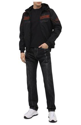 Мужская хлопковая футболка exclusive for moscow HARLEY-DAVIDSON черного цвета, арт. R003698 | Фото 2