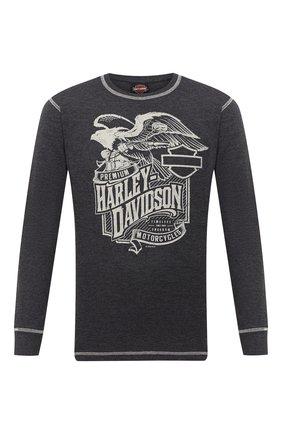 Мужской джемпер exclusive for moscow HARLEY-DAVIDSON серого цвета, арт. R003719 | Фото 1