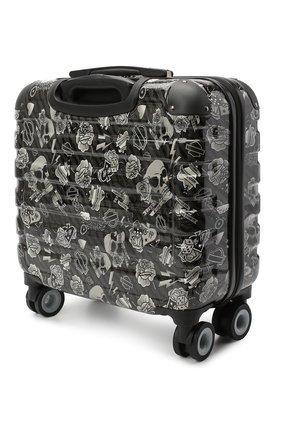 Мужской дорожный чемодан HARLEY-DAVIDSON черно-белого цвета, арт. 99916 17''   Фото 2