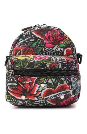 Детская рюкзак HARLEY-DAVIDSON разноцветного цвета, арт. 99668  Tattoo | Фото 1