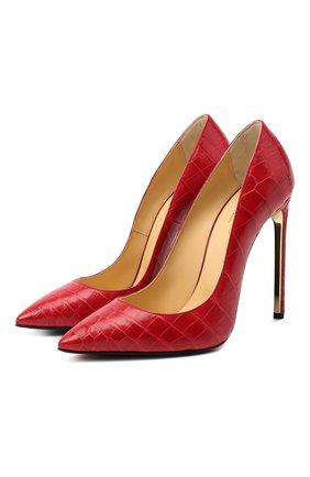 Кожаные туфли Decollete | Фото №1