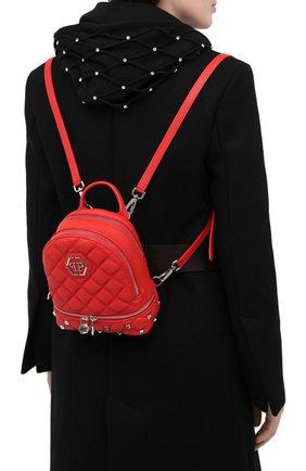 Женский рюкзак PHILIPP PLEIN красного цвета, арт. F20A WBA1298 PLE053N | Фото 2