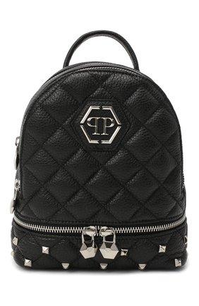 Женский рюкзак PHILIPP PLEIN черного цвета, арт. F20A WBA1298 PLE053N | Фото 1