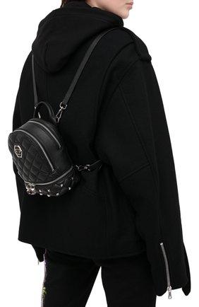 Женский рюкзак PHILIPP PLEIN черного цвета, арт. F20A WBA1298 PLE053N | Фото 2