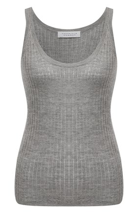 Женский топ из кашемира и шелка GABRIELA HEARST серого цвета, арт. 120923 A003 | Фото 1