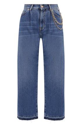 Женские джинсы ERMANNO ERMANNO SCERVINO голубого цвета, арт. 47T JL23 JNF | Фото 1
