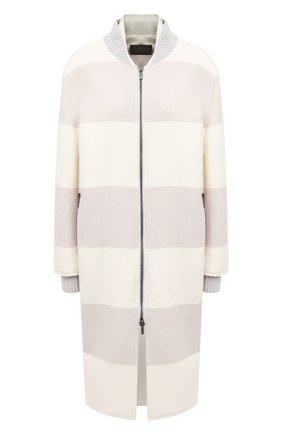 Женское шерстяное пальто LORENA ANTONIAZZI бежевого цвета, арт. A2006CP054/3319 | Фото 1