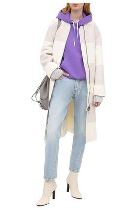 Женское шерстяное пальто LORENA ANTONIAZZI бежевого цвета, арт. A2006CP054/3319 | Фото 2
