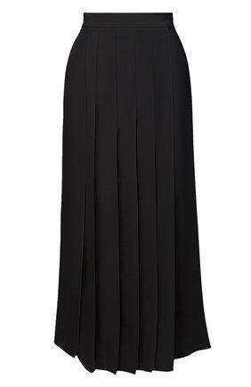 Женская шерстяная юбка BRUNELLO CUCINELLI черного цвета, арт. M0W27G2994 | Фото 1