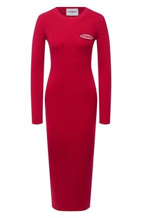 Женское шерстяное платье ICEBERG фуксия цвета, арт. 20I I2P0/AH01/7010 | Фото 1