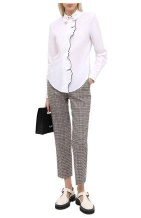 Женские брюки VIVETTA бежевого цвета, арт. 20I V2M0/B072/3074 | Фото 2