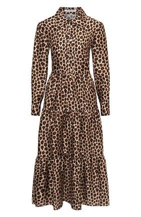 Женское платье VIVETTA леопардового цвета, арт. 20I V2M0/H151/5131 | Фото 1