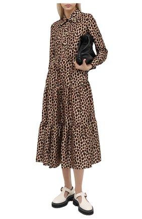Женское платье VIVETTA леопардового цвета, арт. 20I V2M0/H151/5131 | Фото 2