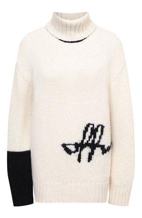 Женская свитер OFF-WHITE белого цвета, арт. 0WHF008E20KNI0010110 | Фото 1