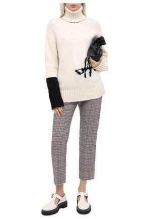 Женская свитер OFF-WHITE белого цвета, арт. 0WHF008E20KNI0010110 | Фото 2