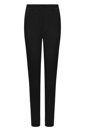 Женские брюки BURBERRY черного цвета, арт. 4566769 | Фото 1