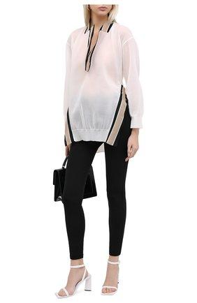 Женские брюки BURBERRY черного цвета, арт. 4566769 | Фото 2
