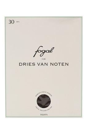 Женские колготки DRIES VAN NOTEN темно-коричневого цвета, арт. 202-11901 | Фото 1